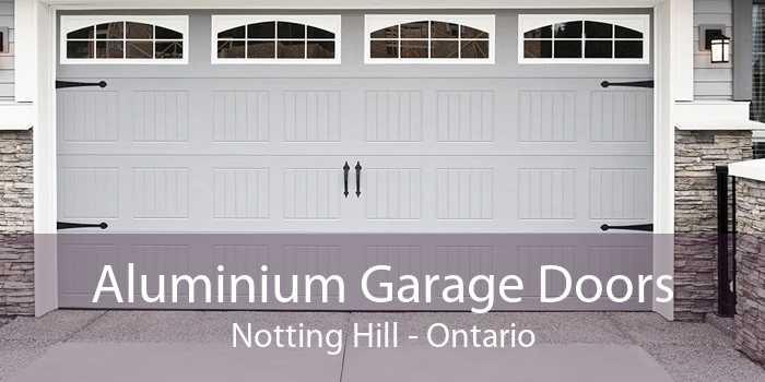 Aluminium Garage Doors Notting Hill - Ontario