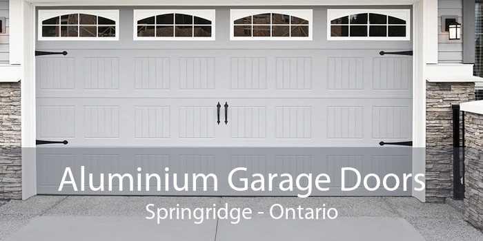 Aluminium Garage Doors Springridge - Ontario