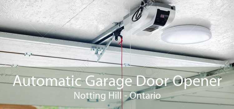 Automatic Garage Door Opener Notting Hill - Ontario