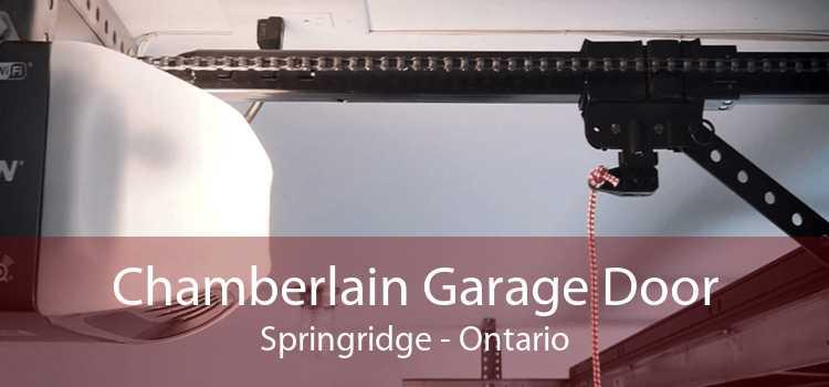 Chamberlain Garage Door Springridge - Ontario