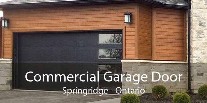 Commercial Garage Door Springridge - Ontario
