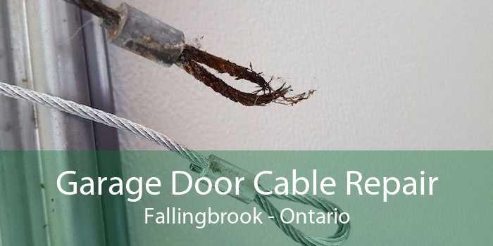 Garage Door Cable Repair Fallingbrook - Ontario