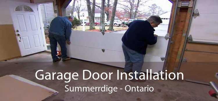 Garage Door Installation Summerrdige - Ontario