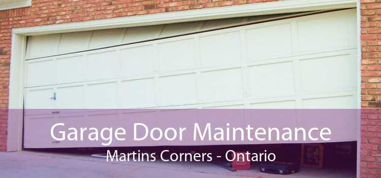 Garage Door Maintenance Martins Corners - Ontario
