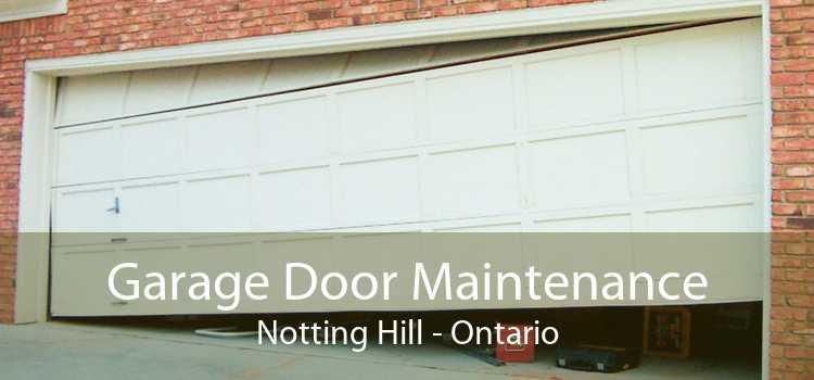 Garage Door Maintenance Notting Hill - Ontario
