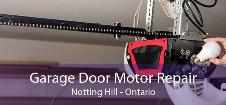 Garage Door Motor Repair Notting Hill - Ontario