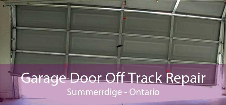 Garage Door Off Track Repair Summerrdige - Ontario