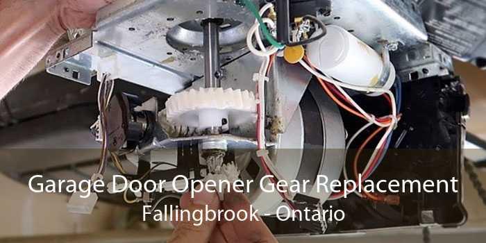 Garage Door Opener Gear Replacement Fallingbrook - Ontario