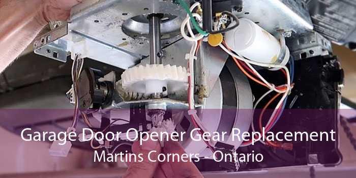 Garage Door Opener Gear Replacement Martins Corners - Ontario