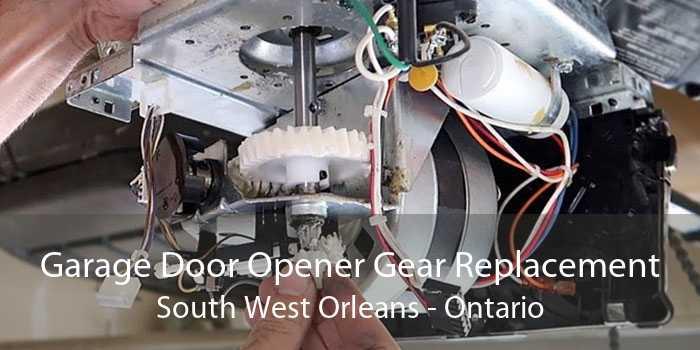 Garage Door Opener Gear Replacement South West Orleans - Ontario