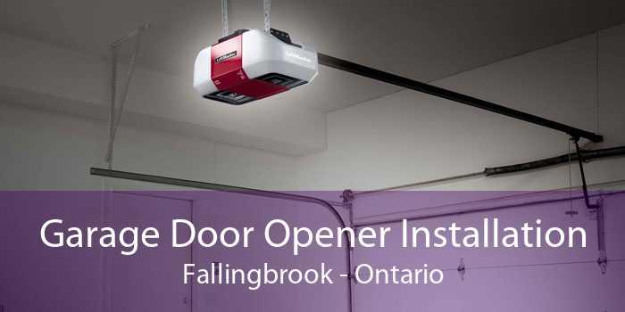 Garage Door Opener Installation Fallingbrook - Ontario