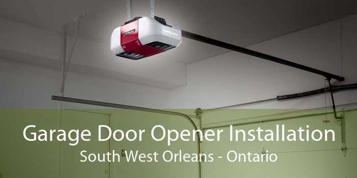 Garage Door Opener Installation South West Orleans - Ontario