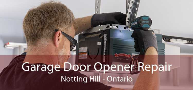 Garage Door Opener Repair Notting Hill - Ontario