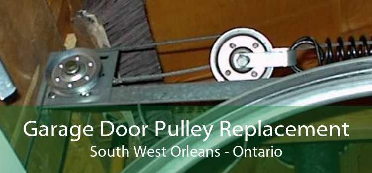 Garage Door Pulley Replacement South West Orleans - Ontario