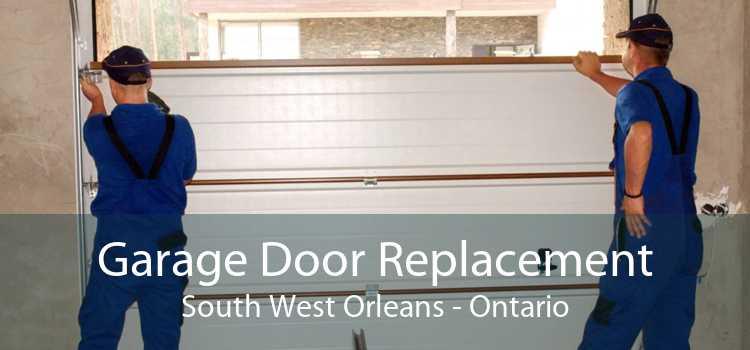 Garage Door Replacement South West Orleans - Ontario