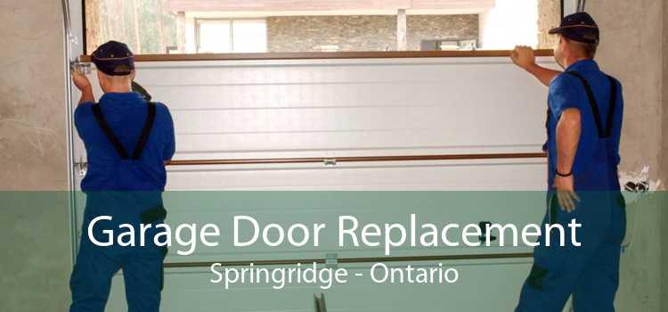 Garage Door Replacement Springridge - Ontario