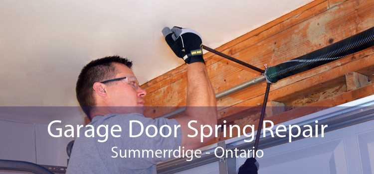Garage Door Spring Repair Summerrdige - Ontario