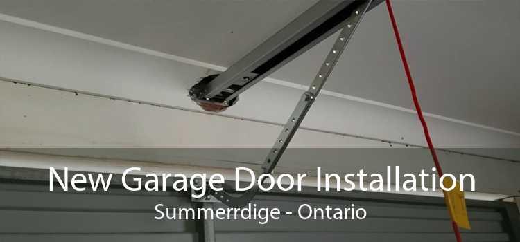 New Garage Door Installation Summerrdige - Ontario