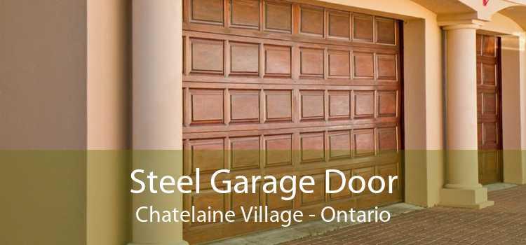 Steel Garage Door Chatelaine Village - Ontario