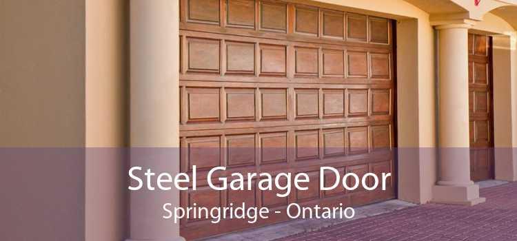 Steel Garage Door Springridge - Ontario