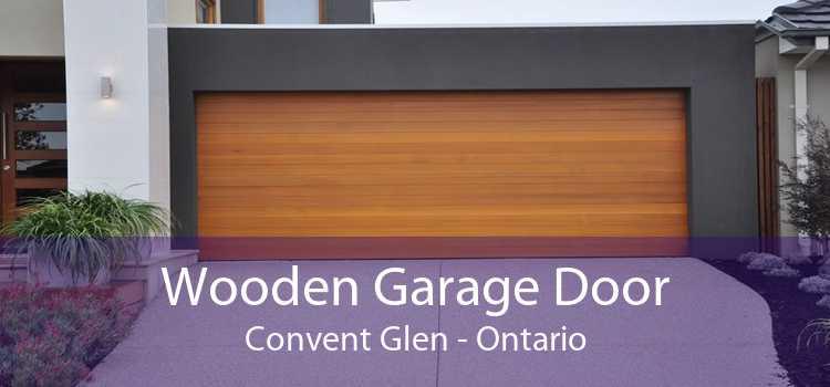 Wooden Garage Door Convent Glen - Ontario