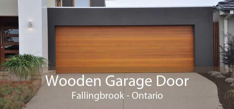 Wooden Garage Door Fallingbrook - Ontario