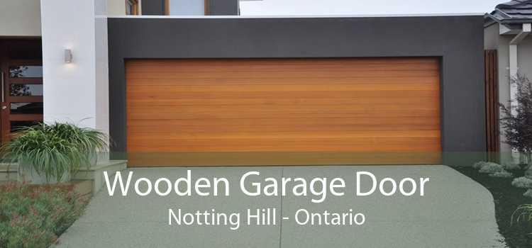 Wooden Garage Door Notting Hill - Ontario