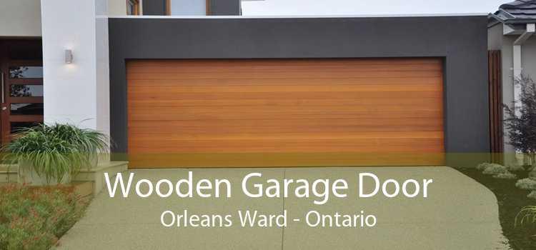 Wooden Garage Door Orleans Ward - Ontario