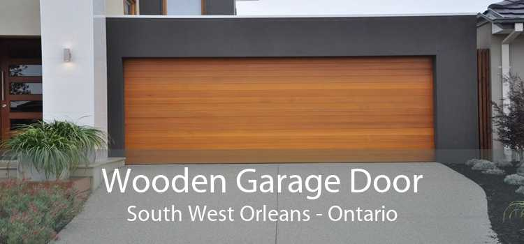Wooden Garage Door South West Orleans - Ontario